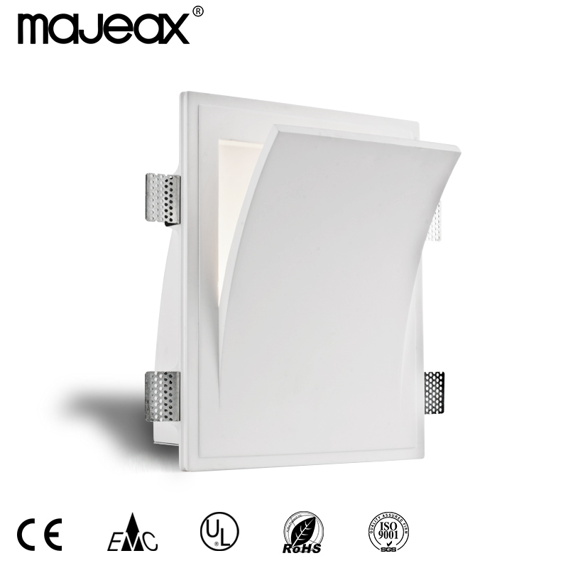Plaster recessed wall lamp MW-8401