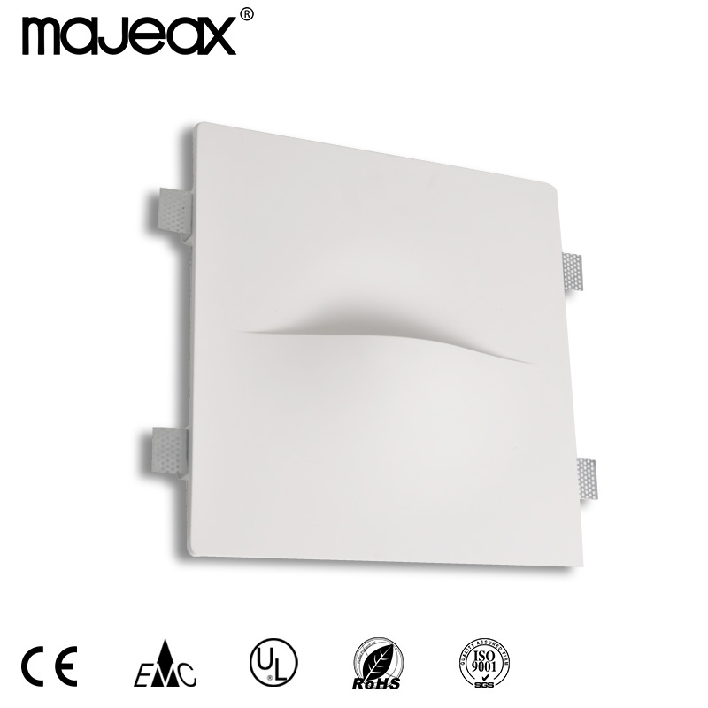 Gypsum  recessed wall lamp MW-8502