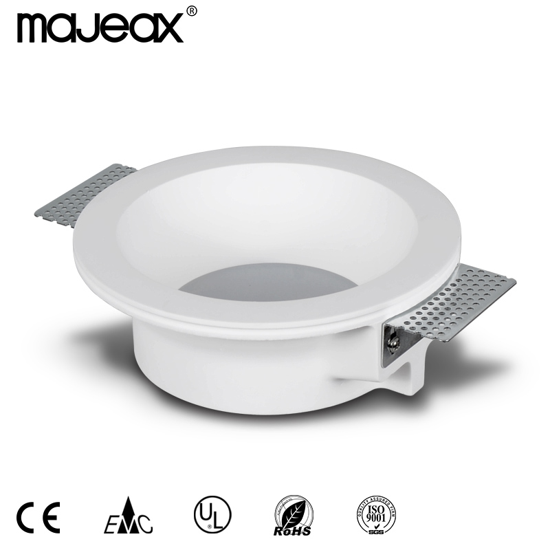 Trimless Gypsum Recessed Downlight MC-9008