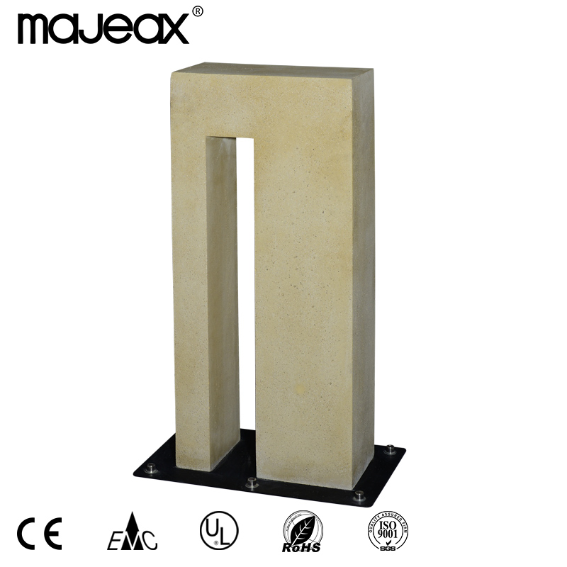 Concrete outdoor lamp MO-7004