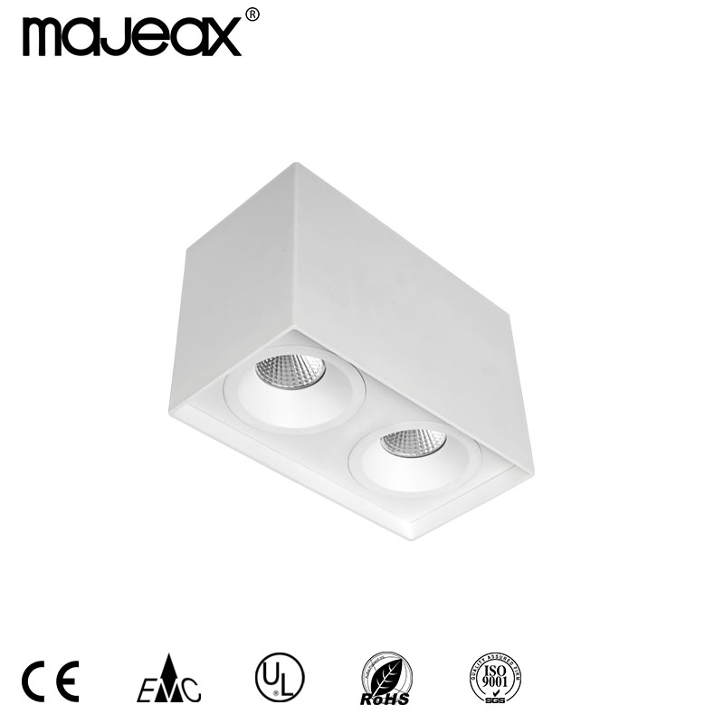 Square aluminum led downlight MJ-1025