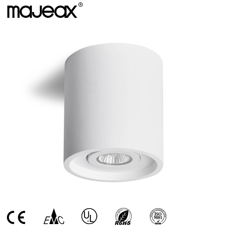 Round plaster ceiling lamp MC-9258