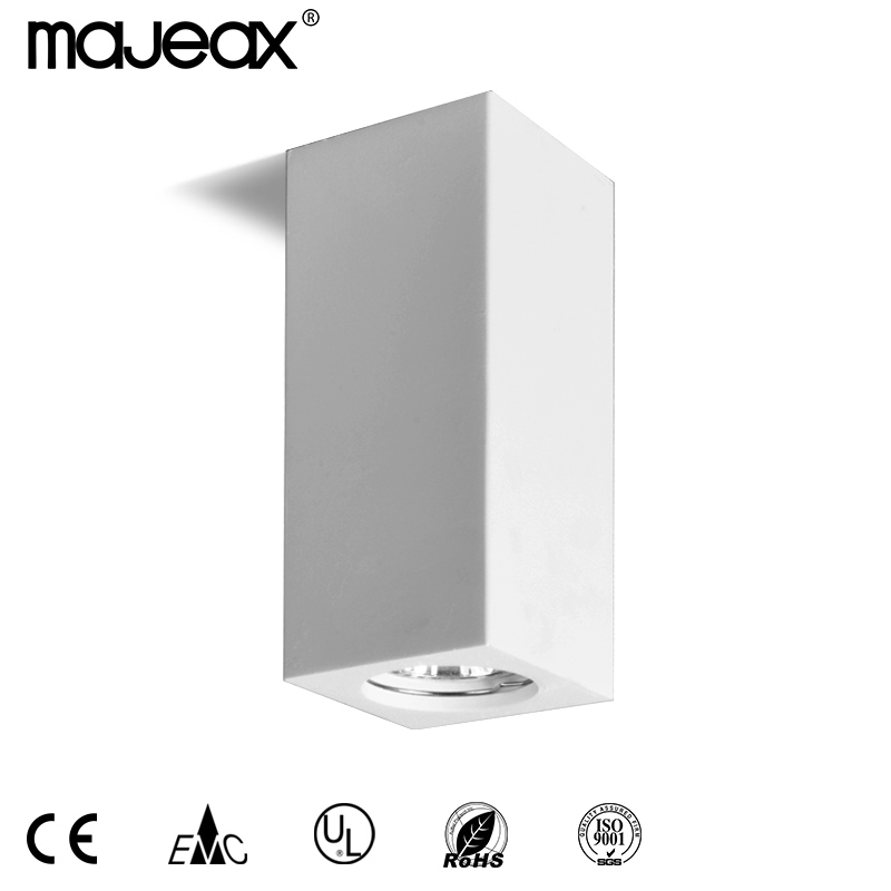 Square plaster ceiling lamp MC-9264