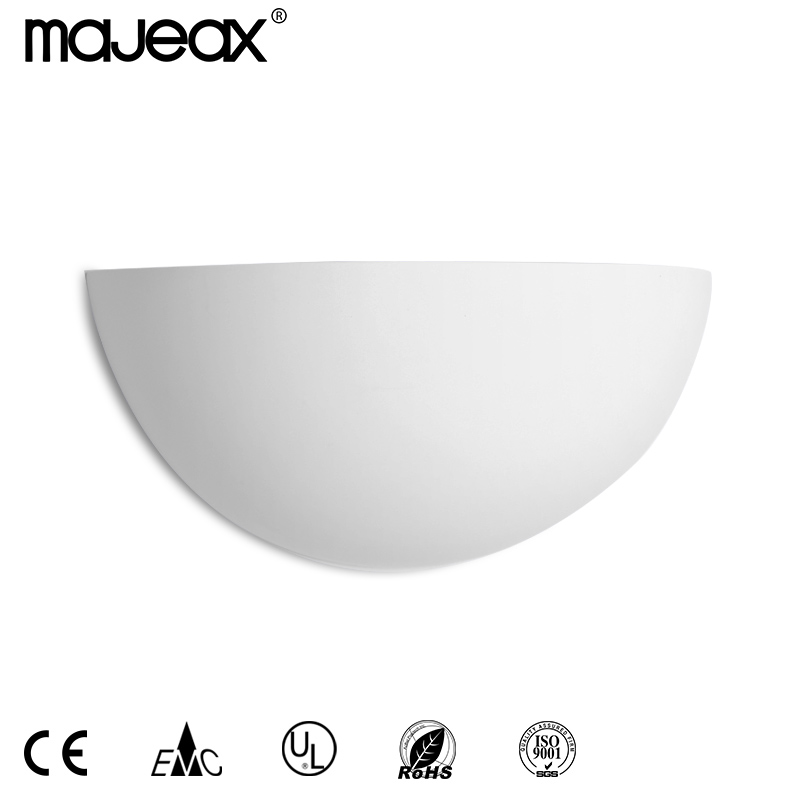 Hot sale plaster wall lamp MW-8138