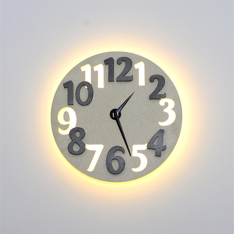 LED concrete clock MD-6019